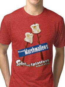 Splatfest Team Marshmallows v.1 Tri-blend T-Shirt
