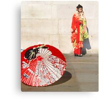 London meets Japan Metal Print