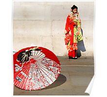 London meets Japan Poster