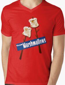 Splatfest Team Marshmallows v.2 Mens V-Neck T-Shirt
