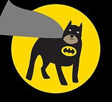 BAT PUG by LucyHollyhock