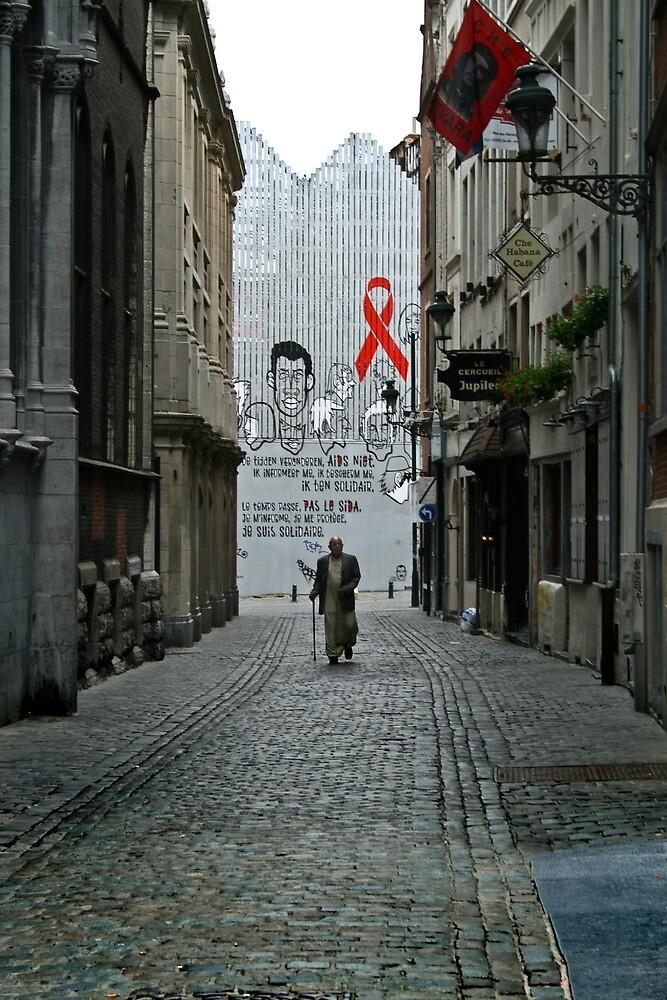 walking alone by Filiz A