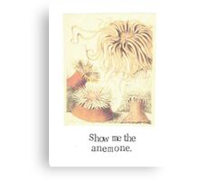 Show Me The Anemone Canvas Print