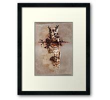 Mindless, Soulless Framed Print