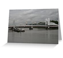 I often used to come here to .... build a bridge? Greeting Card