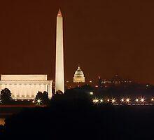 Washington DC - Monuments by bkphoto