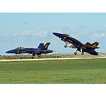 Blue Angels Lift-Off Photographic Print