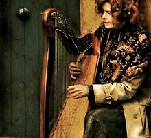 Harpist by Louise Fahy