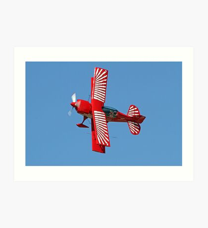 Red Eagle Air Sports Art Print