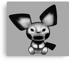 Pokemon - Pichu Demon Canvas Print