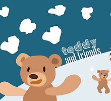 Teddy and Friends by amak