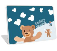 Teddy and Friends Laptop Skin