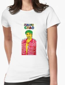 Manu Chao Reggae Ska Pop Folk Art Womens Fitted T-Shirt