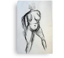 Bodies 1: Figure Sketch Canvas Print