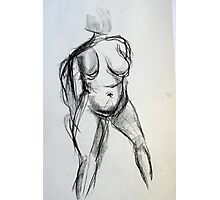 Bodies 1: Figure Sketch Photographic Print
