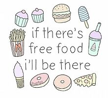 If there's free food i'll be there by madebydidi