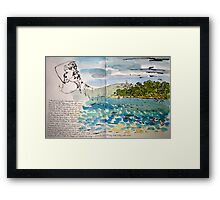 from point walter Framed Print