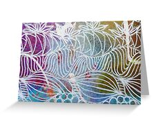 Tropical Island Paradise Greeting Card