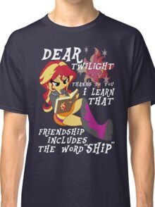 "Friend ""ship"" is magic! Classic T-Shirt"