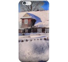 Sunny day after a snow storm  iPhone Case/Skin