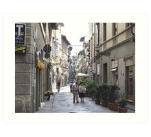 Old Streets of Florence, Italy Art Print