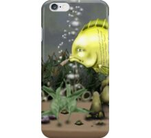 A fish named Gyle  iPhone Case/Skin