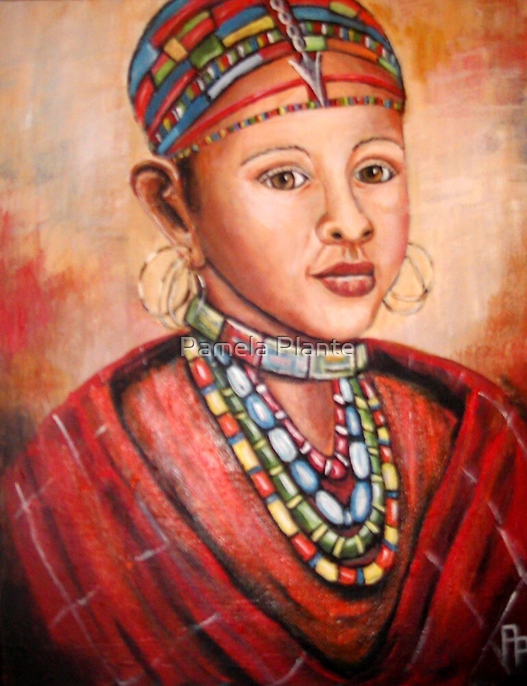 Masai Girl by Pamela Plante