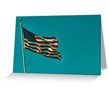 america.  Greeting Card