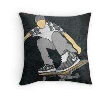 Skateboard 11 Throw Pillow
