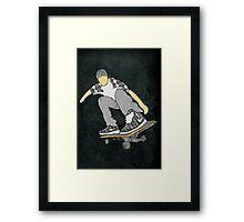Skateboard 11 Framed Print