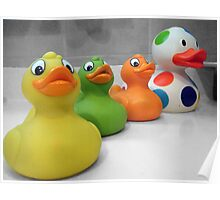 Rubber Duckies Poster