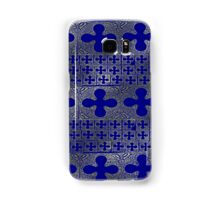 Blue and Gold background Samsung Galaxy Case/Skin
