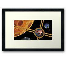 Planet Margonally Framed Print