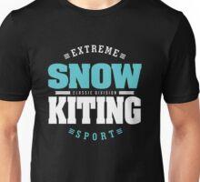 Snowkiting Extreme Sport Unisex T-Shirt