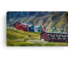 Remote Town Canvas Print