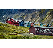 Remote Town Photographic Print