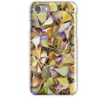 Gingko Leaves in Autumn iPhone Case/Skin