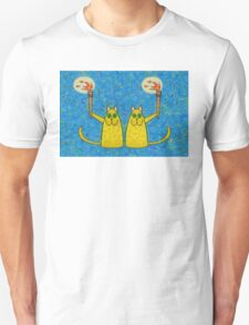 CATS WITH FLAMING TORCHES T-Shirt
