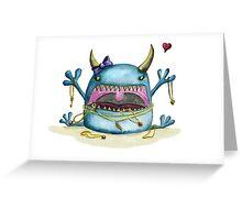 Jewelry Thief Greeting Card
