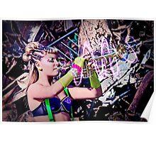 """""""Music is Magic"""" Series: Atomic Frolic Poster"""