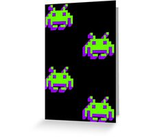 Invaders from Space Greeting Card