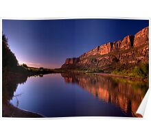 Early Morning on the Rio Grande Poster
