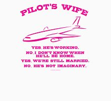 Pilot's Wife Humor  T-Shirt