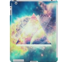 Awsome collosal deep space triangle art sign iPad Case/Skin
