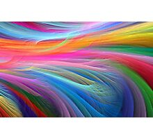 Abstract - Pastel Colors Photographic Print