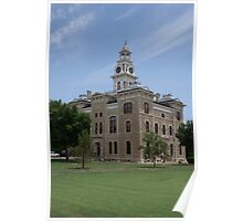 Shackleford County Courthouse, Albany Texas Poster