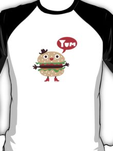 Cheeseburger yum T-Shirt