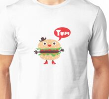 Cheeseburger yum Unisex T-Shirt