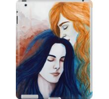 Breathe Me In, Let Me Be Your Air iPad Case/Skin