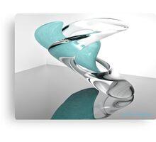 Virtual sculpture Canvas Print